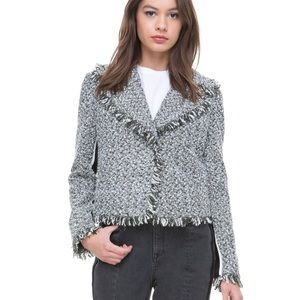 Juicy Couture Black Label Hudson Tweed Jacket